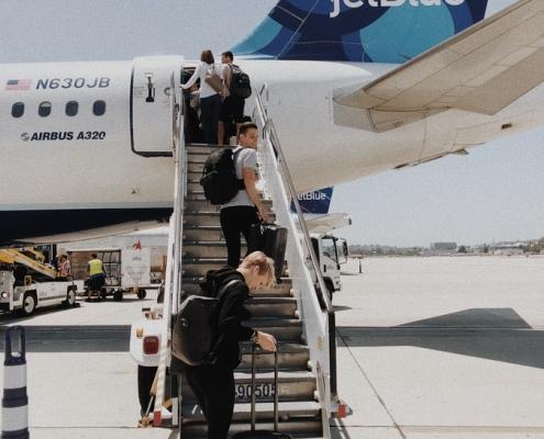 Volar con un shuffle en 2020: viajar con equipaje de mano