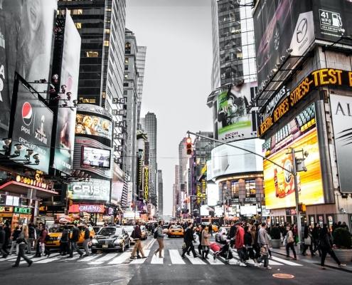 ¿Desde qué aeropuerto de Nueva York llego más rápido a Times Square?
